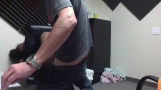 18 year old fucks me in my office for first time anal